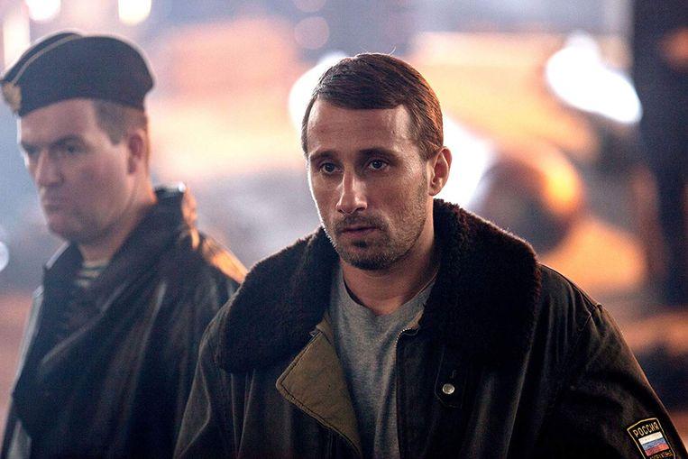 Matthias Schoenaerts in 'Kursk'. Binnenkort komt ook 'The Mustang' uit.