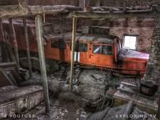 'Urban explorers' uit Lieshout en Mariahout op ontdekkingsreis in een vervallen schuur