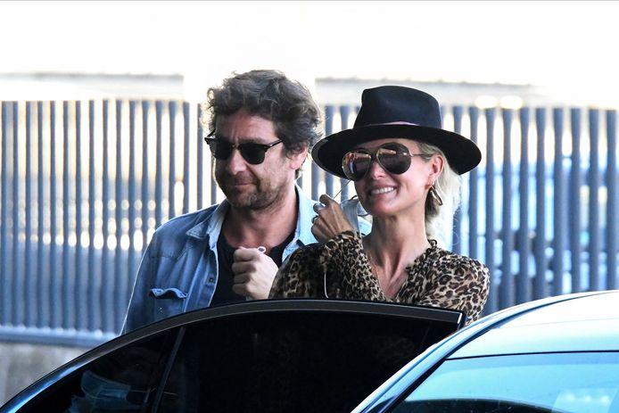 Laeticia Hallyday et son compagnon Pascal Balland