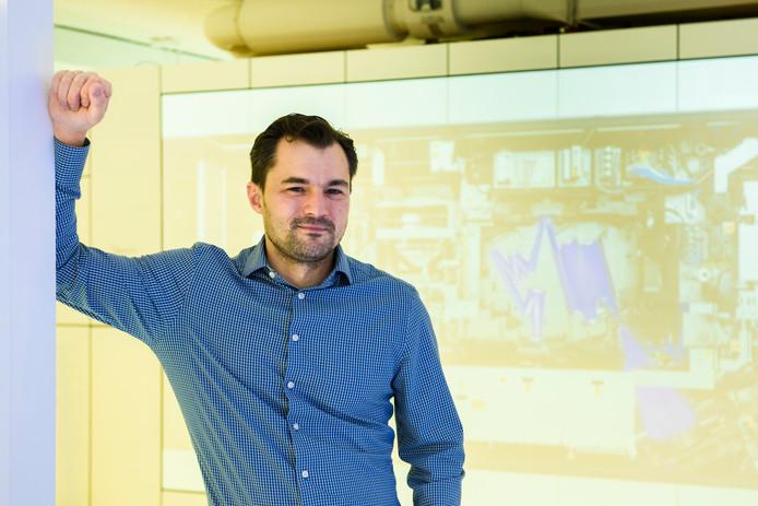 De Rus Andrey Tychkov is laserspecialist bij ASML.