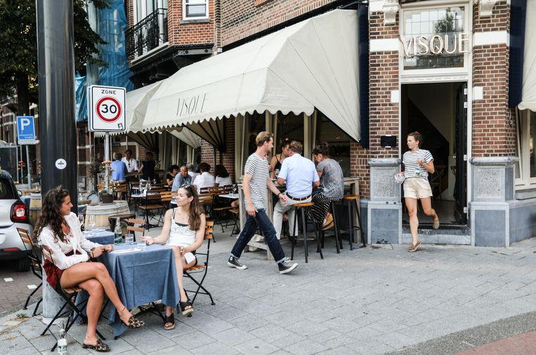 Restaurant Visque op de Willemsparkweg. Beeld Eva Plevier