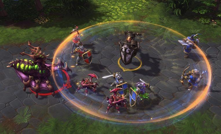 'Heroes of the Storm' is een soort best of-compilatie van eerder verschenen Blizzard-games.