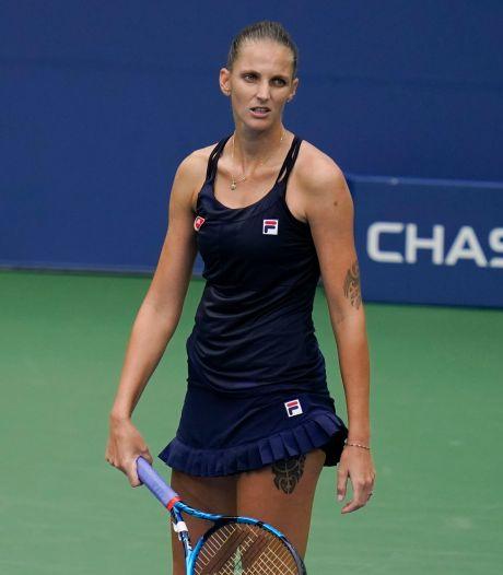 Favoriet Pliskova strandt in tweede ronde US Open, Osaka verder