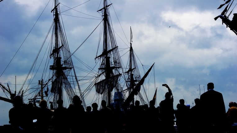 Sail Amsterdam, drie jaar geleden. Beeld ANP
