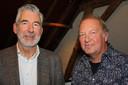 Gert-Jan Hoogeveen (voorzitter van Amersfoorts Cultuurfonds) en Anton Groot (Scholen in de Kunst).