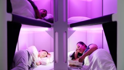 Binnenkort languit liggen in economy class op het vliegtuig? Air New Zealand test het uit
