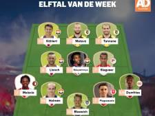 Stuntploeg Willem II sterk vertegenwoordigd in Elftal van de Week