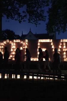 Herdenken én vieren tijdens kaarsenceremonie Samenloop voor Hoop
