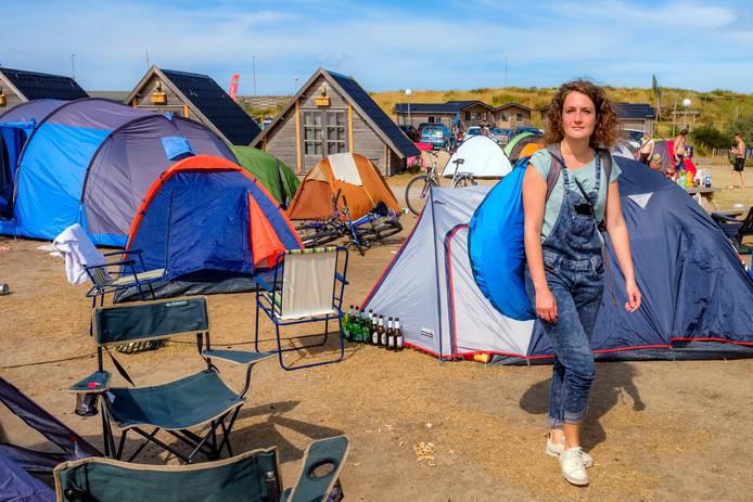 Virginia Groenendijk vangt eerst bot, maar een dag later is er toch een plekje voor haar vrij op camping De Branding