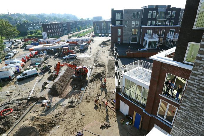 Er wordt al een paar jaar gebouwd op Torckdael.