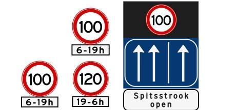 'Hoe weet je of je meer dan 100 km/u mag rijden?'