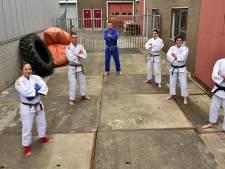 Door trainingsfilmpjes blijven jiu jitsu-talenten in beweging: 'Beste in de regio, zeker weten'