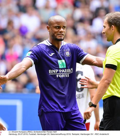 Anderlecht partage à Hambourg après avoir été mené 2-0, Sandler et Nasri ont joué 30 minutes