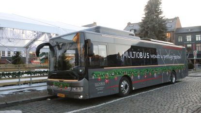 Multiobus lanceert 100 procent elektrische kerstbus
