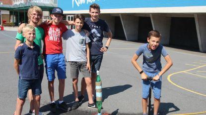 Sint-Jozefschool is even lanceerbasis voor raketten