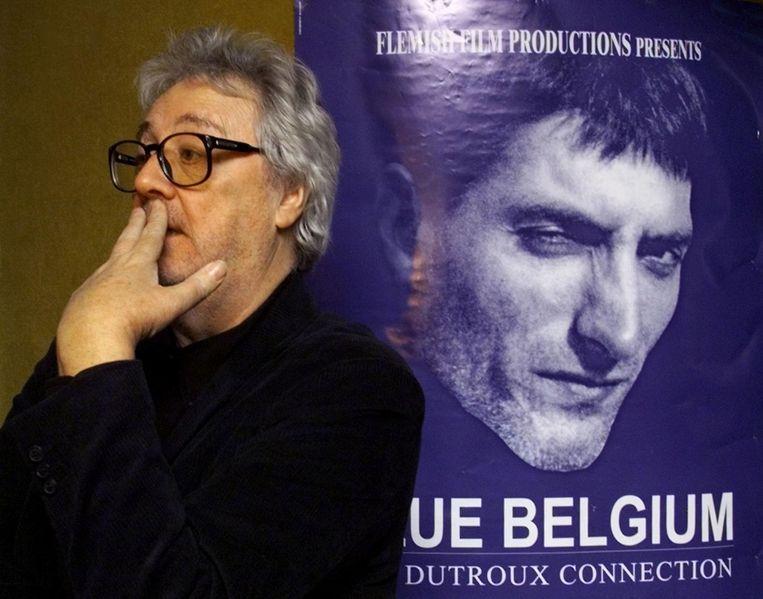 Van Eyck tijdens de première van Blue Belgium in 2000.
