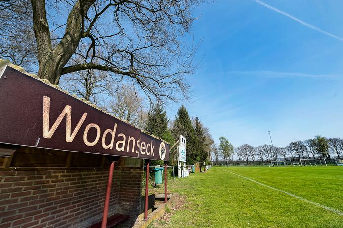 Het sportpark van Wodanseck.