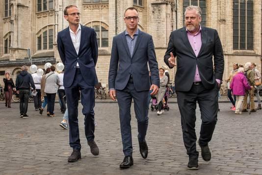 Breda - Archieffoto (vlnr.) Ronald Roothans, Joep van Meel en Peter Schouten.