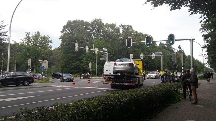 Politieonderzoek in 2017 naar een van de fatale ongevallen op de Bredaseweg.
