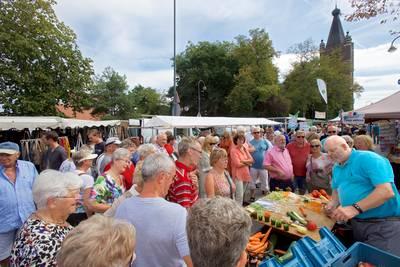 Standwerkers kleuren de jaarmarkt in Chaam