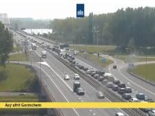 Vertraging op A27 bij Gorinchem door wegwerkzaamheden op A2