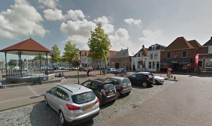 De Markt in Brouwershaven.