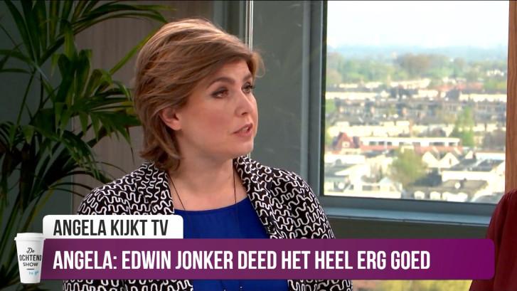 Angela de Jong geraakt door optreden Edwin Jonker in The Passion