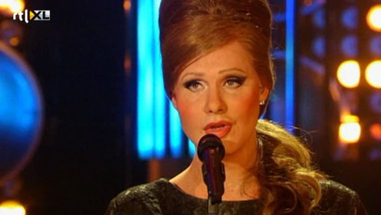 Charly Luske als Adele. Beeld RTL