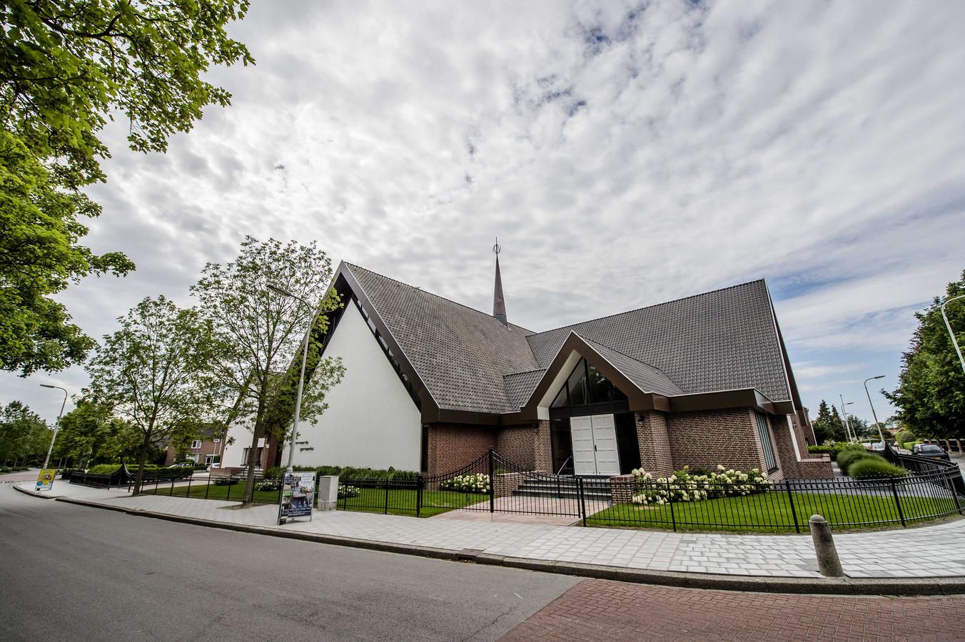 Gebouw van Gereformeerde Gemeente in Kruiningen.