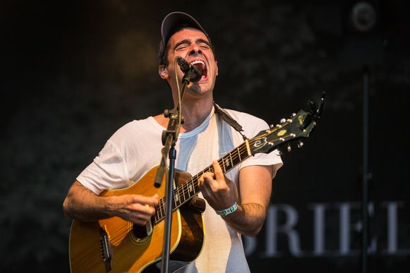Gabriel Rios op Cactusfestival.