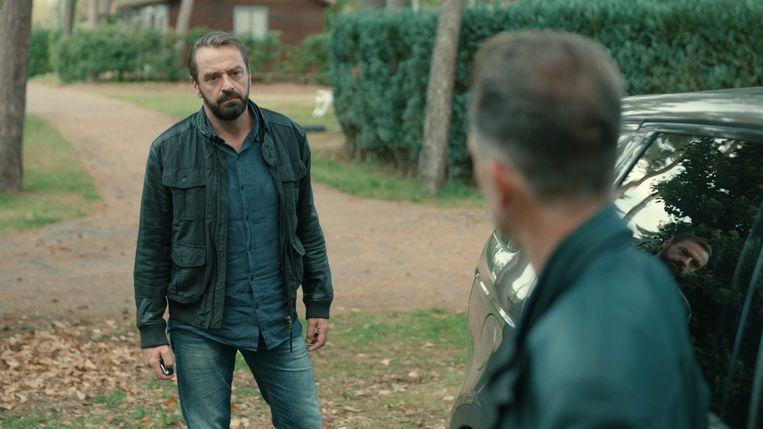 Tom Waes op de set van 'Undercover'. Volgens Peter X. heeft Waes zeker de kwaliteiten om het te maken als geheim agent.
