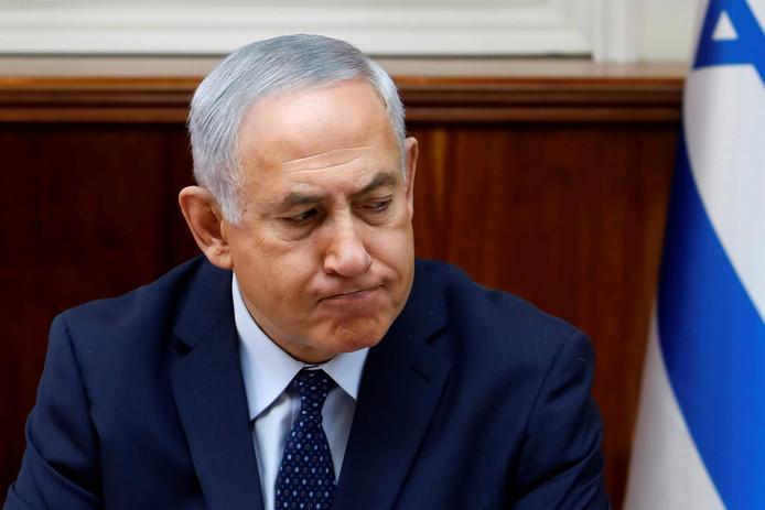Premier Benjamin Netanyahu van Israël.
