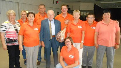 Ghislain Clompen wint beenhesp op eetfestijn CD&V