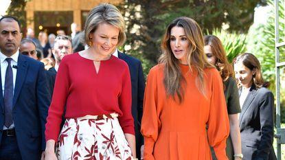 Waarom deze outfit van Koningin Mathilde zo bijzonder is
