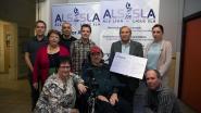 Hugo Symons verzamelt 7.666 euro voor ALS Liga