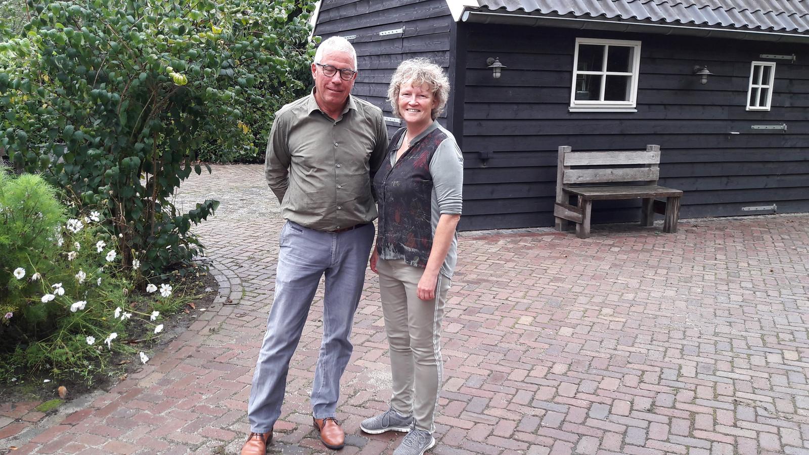 Hennie Bongers uit Grave en Liesbeth van Heeswijk van Liberaal Land van Cuijk.