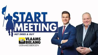 Dries Van Langehove en Guy D'haeseleer te gast bij Vlaams Belang in Geraardsbergen