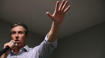 Amerikaanse presidentskandidaat Beto O'Rourke haalt recordbedrag op binnen 24 uur