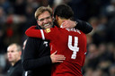 Virgil van Dijk is een belangrijke pion bij het Liverpool van trainer Jürgen Klopp.