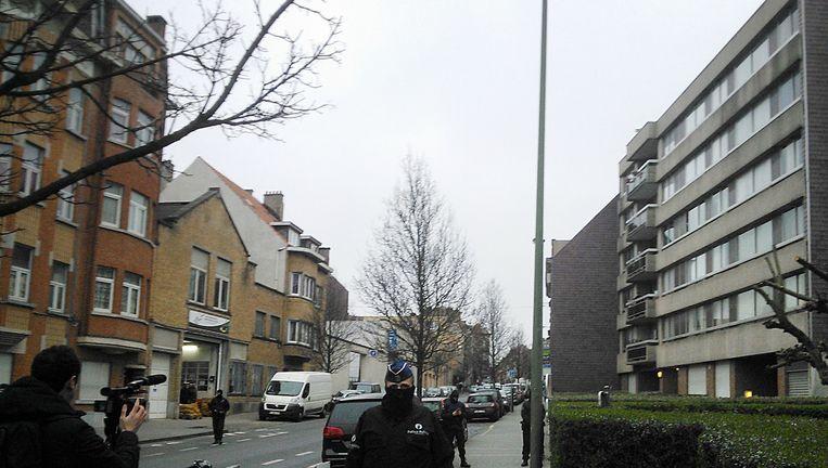 Politieactie in Molenbeek Beeld anp