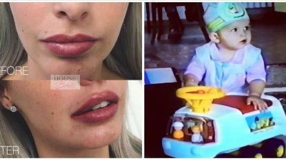 SHOWBITS. Pommeline laat opnieuw aan haar lippen werken en welke acteur schuilt er achter dit schattig, jarig mannetje?