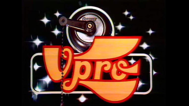Jaap Drupsteens ontwerpen voor het logo van omroep VPRO tussen 1970 en 1979. Beeld Io Cooman