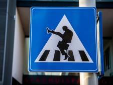 Kijk straks niet op van voetgangers die in Zierikzee een beetje raar oversteken