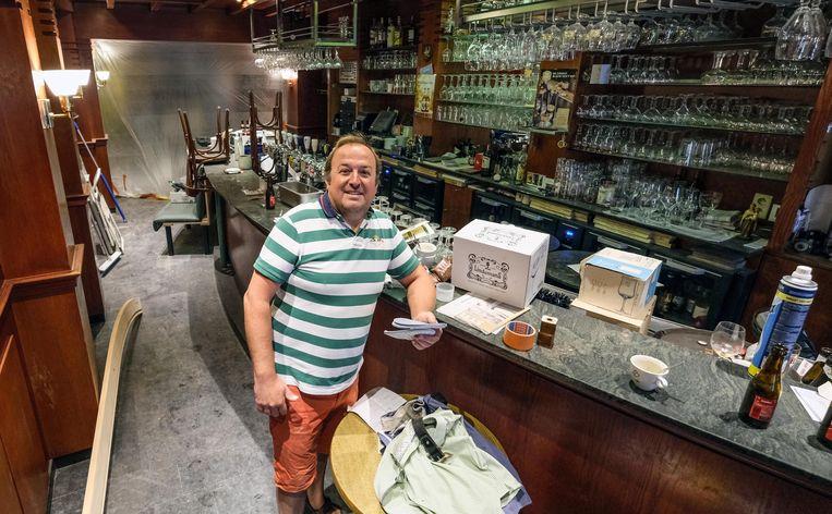 Ieper Stefaan Depoorter van café The Times opent vrijdag pas de deuren.