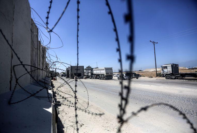 Grensovergang Kerem Shalom  Beeld EPA
