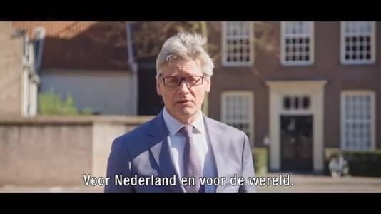 Burgemeester Lucas Bolsius in het filmpje Wij Amersfoort voor iedereen