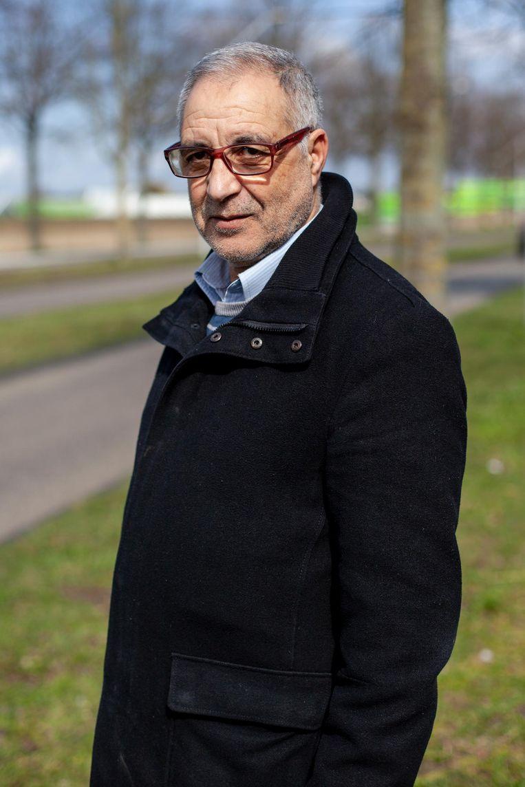Mustapha Azouz (55) Beeld Lin Woldendorp