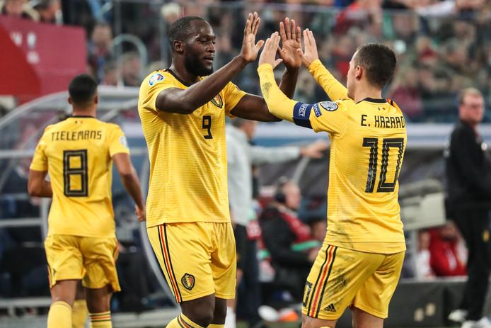Romelu Lukaku tekende voor de 0-4.