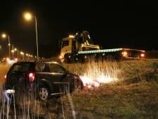 Automobilist even de weg kwijt op oprit A12 bij Veenendaal