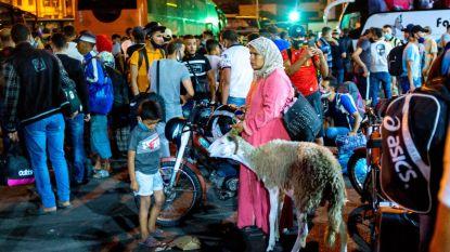 Plotse coronasluiting leidt tot paniek in Marokko